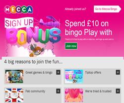 Mecca Bingo Promo Codes