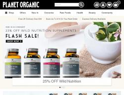 Planet Organic Discount Codes
