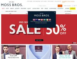 Moss Bros Discount Codes