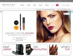Motives Cosmetics Promo Codes