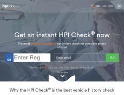 Hpi Check Discount Codes