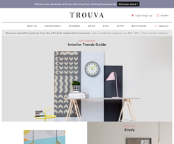 Trouva Discount Codes
