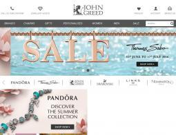 John Greed Jewellery Discount Codes