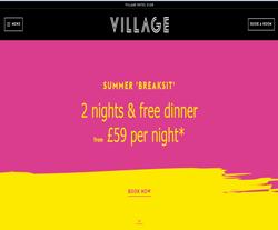 Village Hotels Promo Codes
