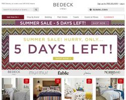 Bedeck Discount Codes