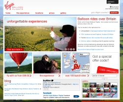 Virgin Balloon Flights Discount Codes