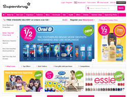 Superdrug Voucher Codes