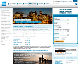 American Express Travel Insurance Discount Codes