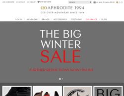 Aphrodite Discount Codes