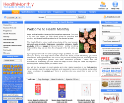 Health Monthly Discount Codes