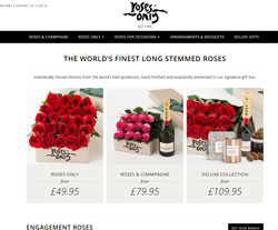 Roses Only Voucher Codes