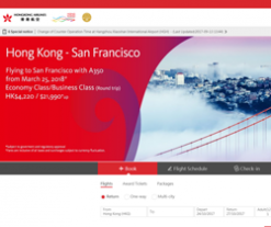 Hong Kong Airlines Promo Codes