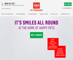 Argos Pet Insurance Discount Codes