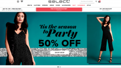 select fashion Discount Codes