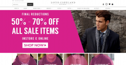Louis Copeland Discount Codes