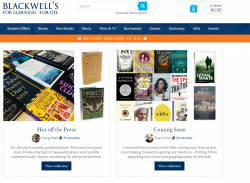 Blackwell Books Discount Codes