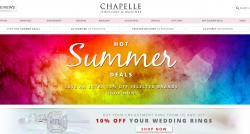 Chapelle Jewellery Discount Codes