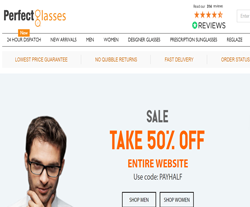 Perfect Glasses Discount Codes