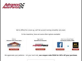 Advance Auto Parts Promo Codes