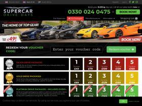Supercar Drivedays Discount Codes